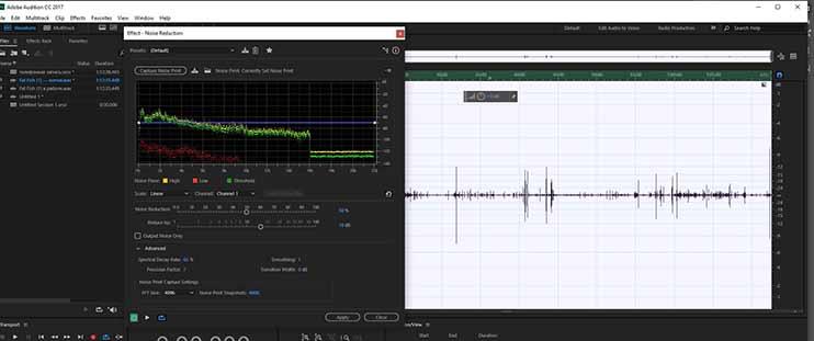 Как очистить запись от шумов - подавление фонового шума