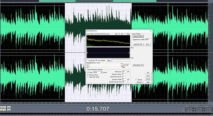 Очистить аудиозапись от шумов онлайн