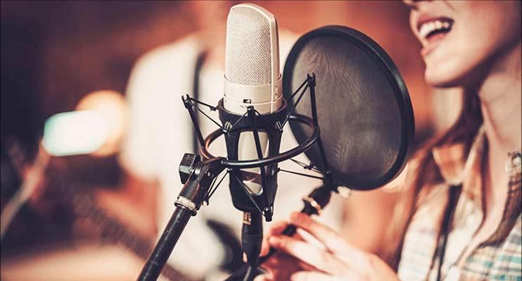 Запись и обработка женского голоса