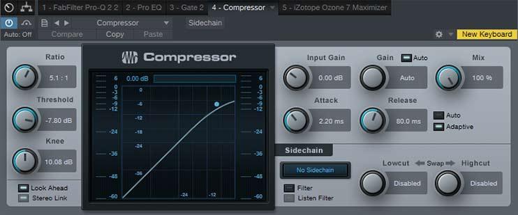 Обработка голоса - компрессия