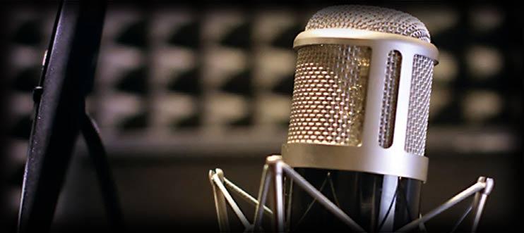 Заказать запись голоса диктора