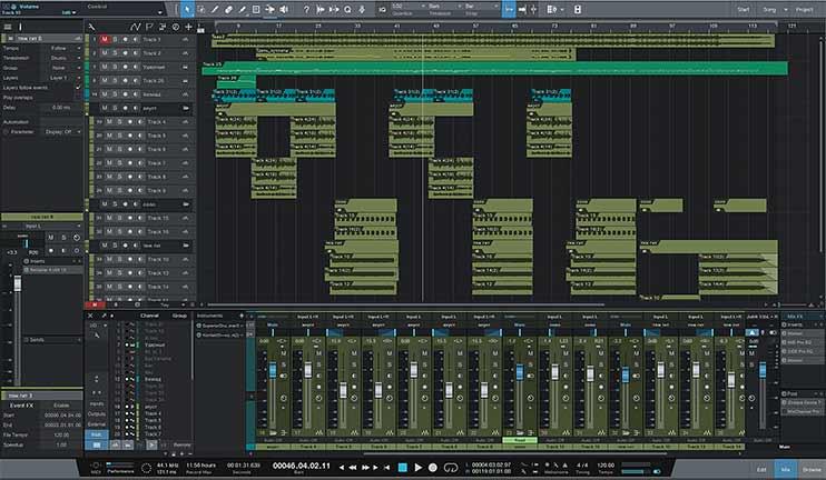 Правильное сведение треков в программе Studio One