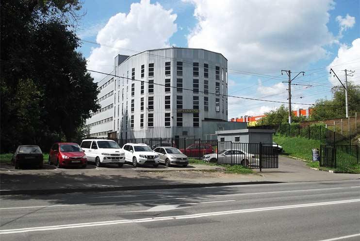 Внешний вид здания ул. Башиловская д.34