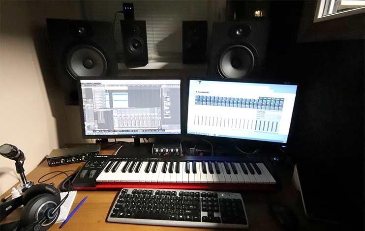 Звукозаписывающая студия - рабочее место звукорежиссера