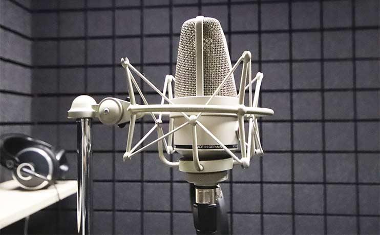 Микрофон для записи песни