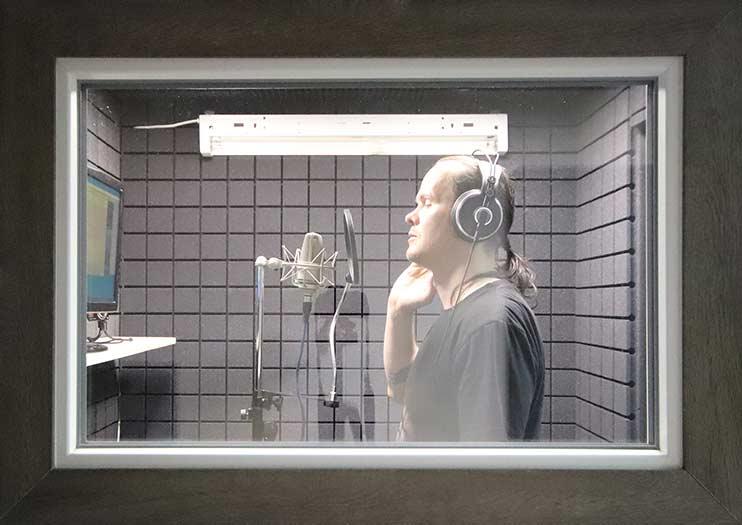 Запись трека в студии Vivaldi