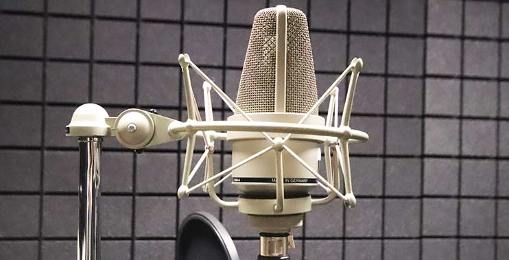 Студия записи голоса Vivaldi использует микрофон Neumann TLM103