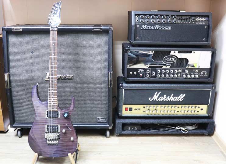 Гитарное оборудование студии Vivaldi