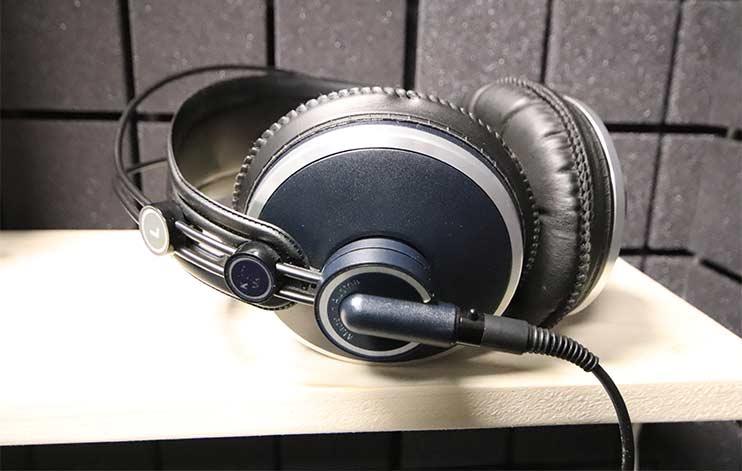 Мониторные наушники AKG для записи трека
