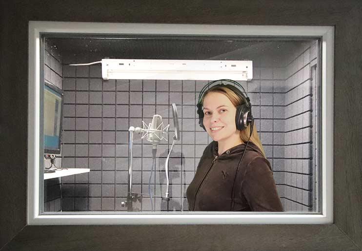 Озвучка рекламного ролика в студии Vivaldi