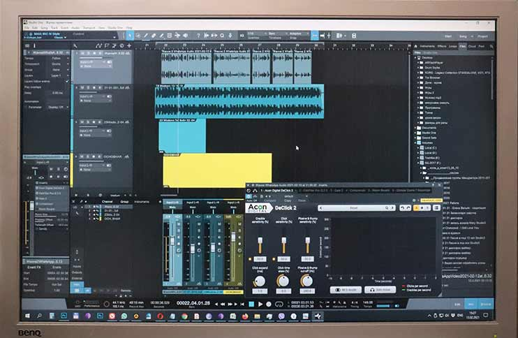 Сведение и мастеринг в программе для звукозаписи Presonus Studio One