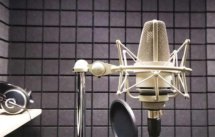 Микрофон Neumann TLM-103 для записи песен в студии