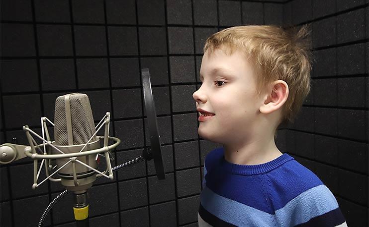 Записать детскую песню очень просто в студии Vivaldi!