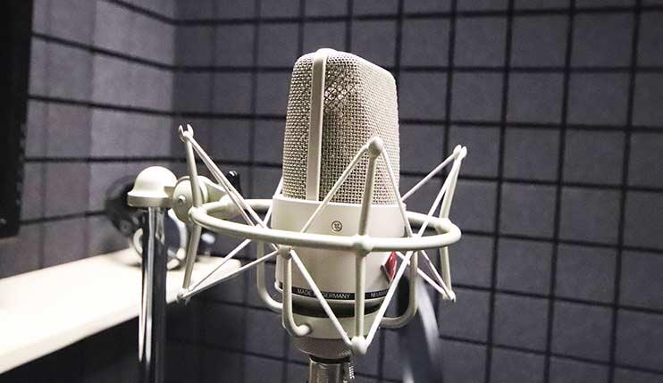 Для записи хороших песен нужен хороший микрофон